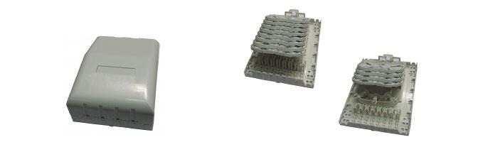 WM045-04 Riser Box Multi Tray Fiberoptik Kablo Aksesuarı