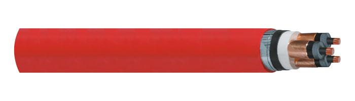 YXC8Z1Z3Z1-R / 2XSEHFGH 3,6/6 kV Orta Gerilim Enerji Kabloları