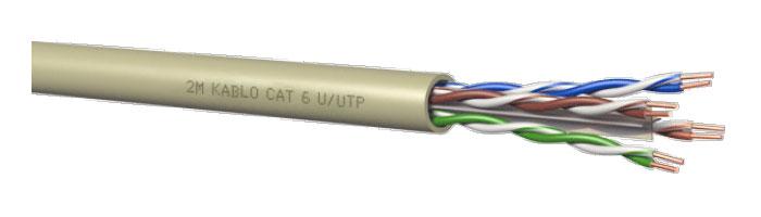 CAT 6 U/UTP Bilgi İletişim Kablosu