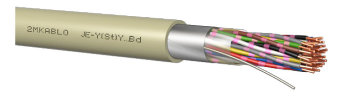 JE-Y(St)Y…Bd Endüstriyel Sinyal İletim Kablosu