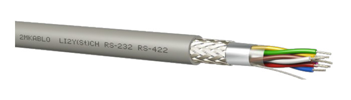 LI2Y(St)CH (RS 232 - 422) Bilgi İletişim Kablosu