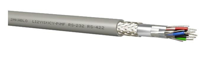 LI2Y(St)CY-PiMF (RS 232 - 422) Bilgi İletişim Kablosu