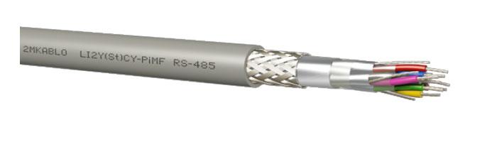 LI2Y(St)CY-PiMF (RS - 485) Bilgi İletişim Kablosu