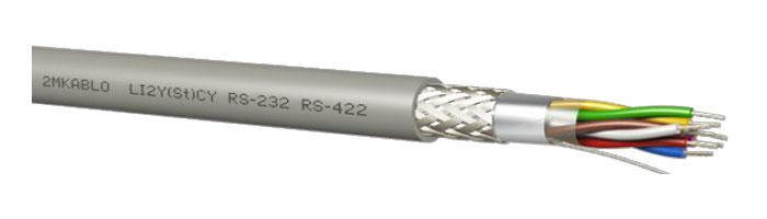 LI2Y(St)CY (RS 232 - 422) Bilgi İletişim Kablosu