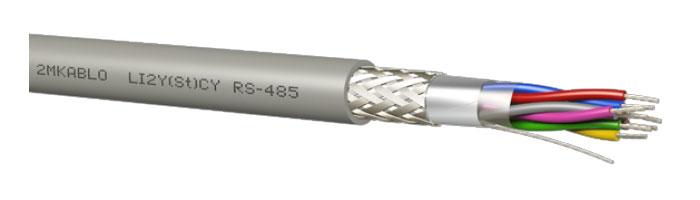 LI2Y(St)CY (RS - 485) Bilgi İletişim Kablosu