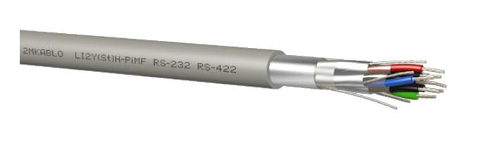 LI2Y(St)H-PiMF (RS 232 - 422) Bilgi İletişim Kablosu