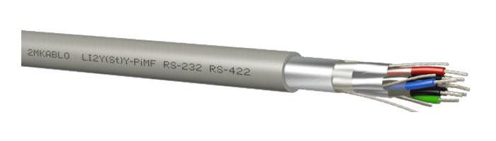 LI2Y(St)Y-PiMF (RS 232 - 422) Bilgi İletişim Kablosu