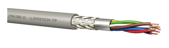 LIH(St)CH-TP Halojensiz Kontrol Kablosu