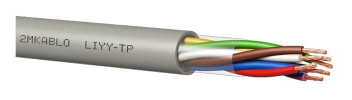 LIYY-TP PVC Kontrol Kablosu