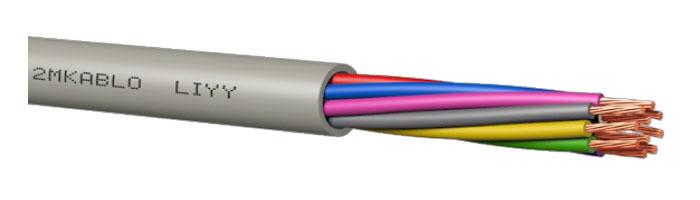 LIYY PVC Kontrol Kablosu