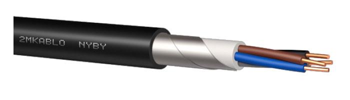 NYBY Zırhlı Enerji Kablosu