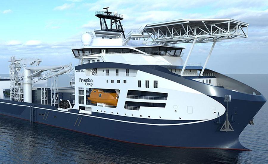 Prysmian Group'tan yeni nesil kablo döşeme gemisi: Leonardo da Vinci