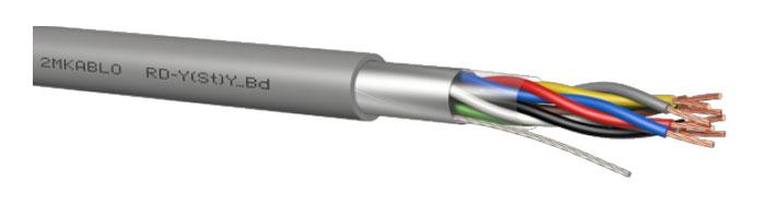 RD-Y(St)Y…Bd - fl Genel Ekranlı Zırhsız Kablo