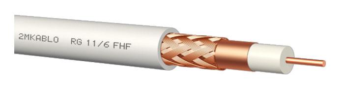 RG 11/6 FHF Koaksiyel Kablo