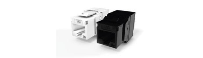 Ucconnect Keystone Jack Cat.5E RJ45 UTP 180° Tool Free Ekranlı Kablo Aksesuarı